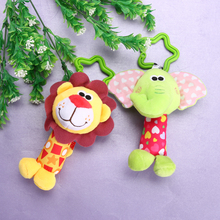 Cute Animal Baby Infant Rattles Toy