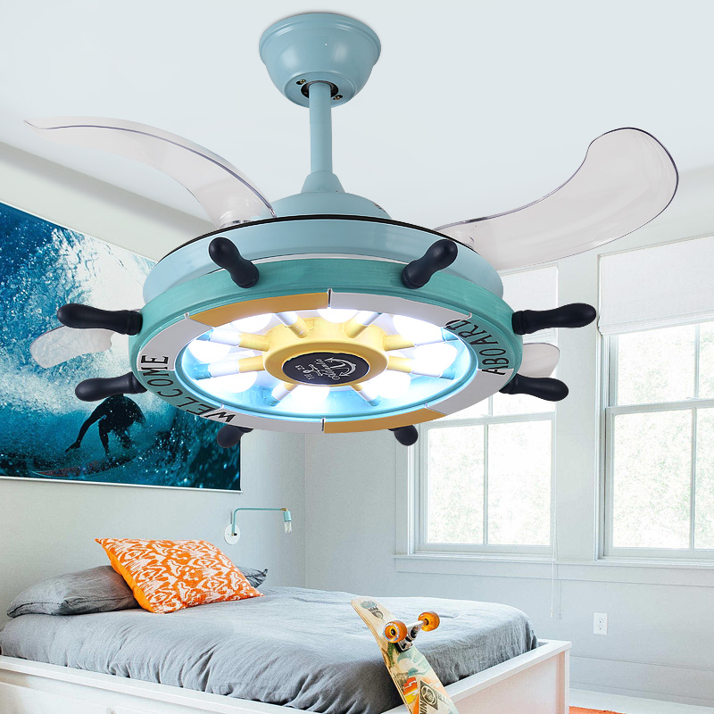 Ventilateur de plafond de chambre d'enfants avec des lumières à télécommande pour la chambre d'enfants ventilador de techo 36 ventilateur de plafond de 42 pouces avec la lumière