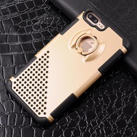 For Iphone 7 Plus Case High Quality Cool Finger Rings Delicate Hard Cover Case For Apple
