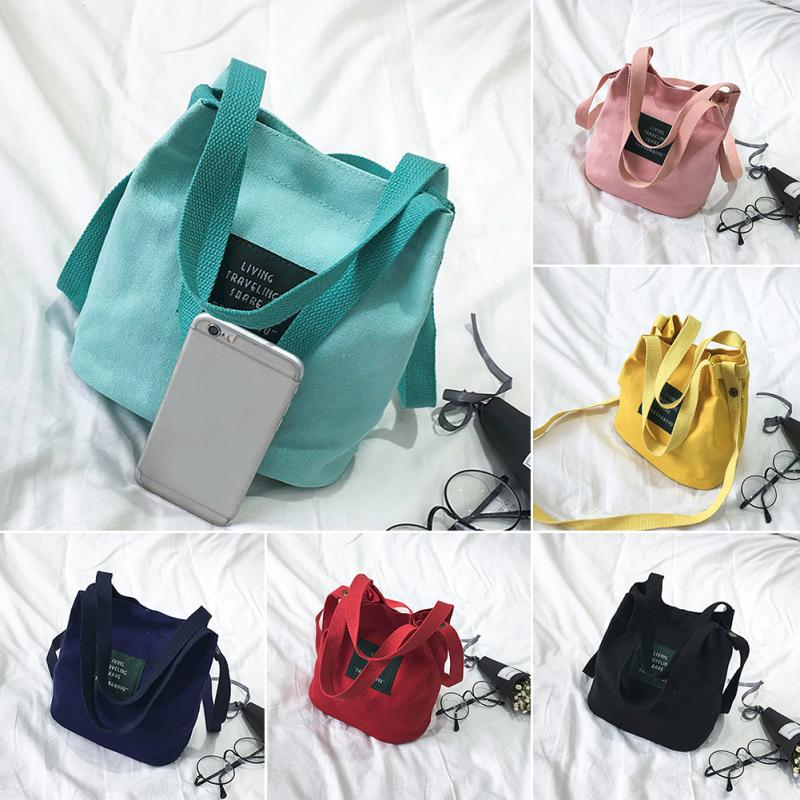 Women Canvas Messenger Bag Mini Single Shoulder Bag Crossbody Lady Girls Swagger Bag Female Shopping Travel Bags Handbag #25