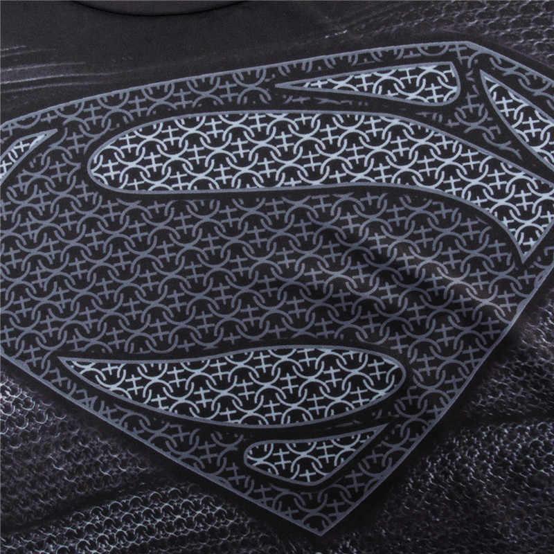 MMATrunks, Мужская футболка для бега, Супермен облегающий, футболка для спортзала, бодибилдинга, фитнеса, спорта, супергероев, рубашки, Homme
