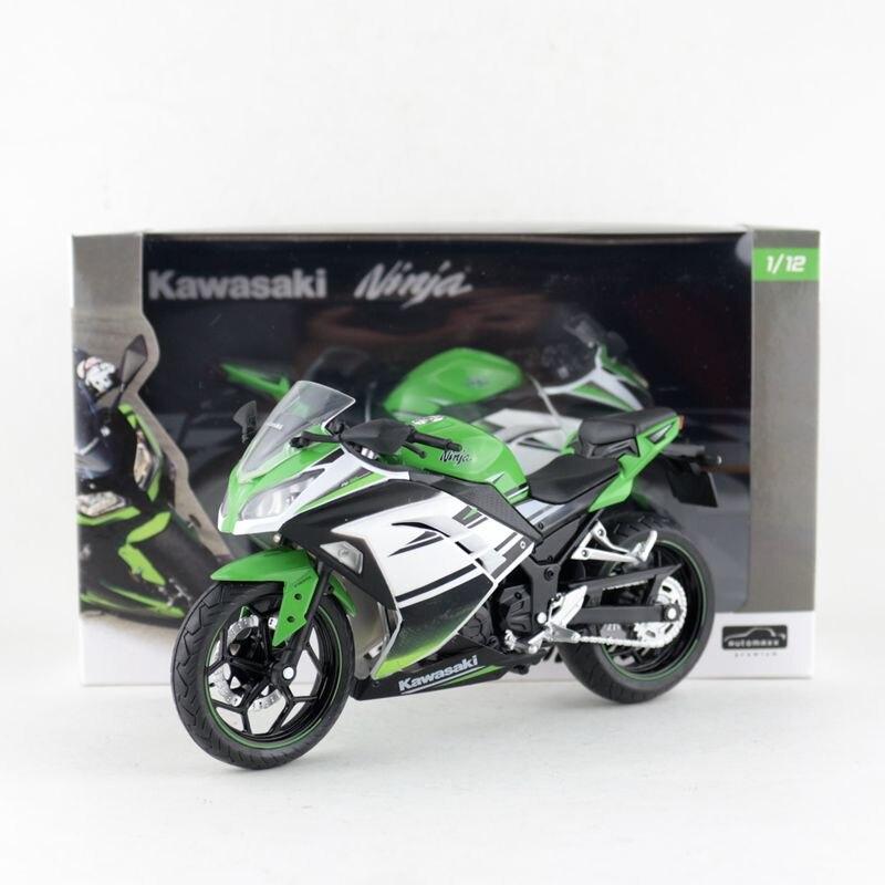 Free Shipping/Automaxx Motorcycle Model/1:12 Scale/2013 Kawasaki Ninja 250/300 Motorcross/Educational Collection/Gift