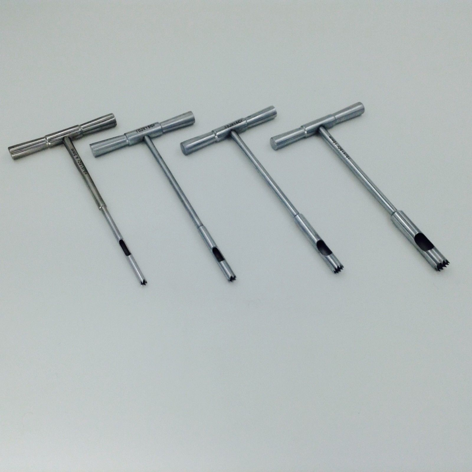 A Set Of Hollow Mill For Removal Of Bone Screws Extractor Orthopedics Instrument