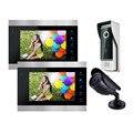 Homefong 7 Дюймов Видео-телефон двери интерком дверной звонок камера системы Записи функция Разблокировки