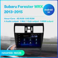Dasaita 1 din Radio Car Android 9.0 for Subaru WRX 2013 2014 2015 USB MP3 9