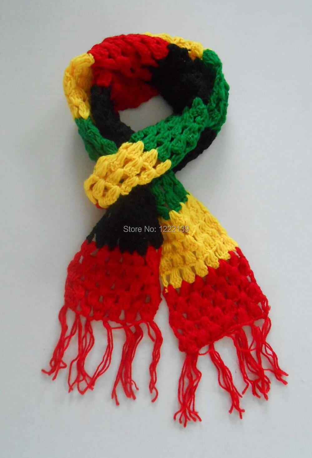 Aliexpress.com: Comprar Nueva moda Jamaica Rasta Reggae bufanda ...
