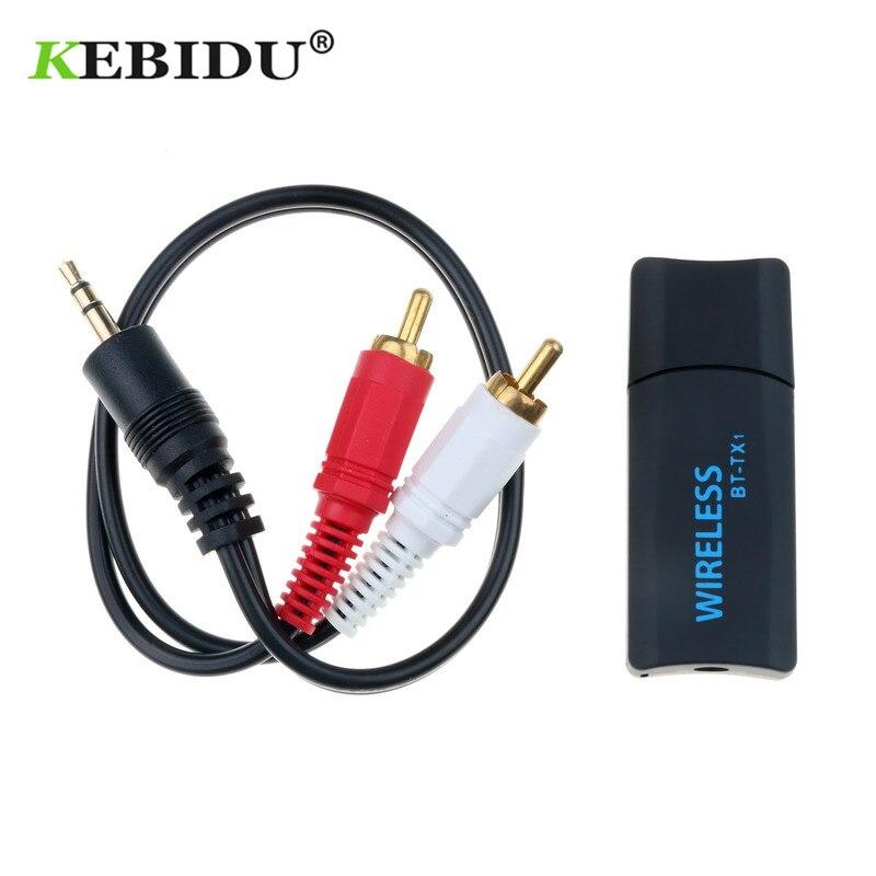 Funkadapter Sonnig Kebidu Bt-42 Bluetooth Usb Wireless Transmitter 3,5mm Aux Audio Musik Adapter Emitter Adapter Dongle Für Computer Tv Mit Kabel Schmerzen Haben