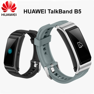 Image 1 - Original banda de Huawei B5 pulsera inteligente con color de pantalla de salud impermeable pantalla táctil Bluetooth completamente táctil científica dormir