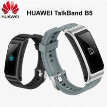 Original huawei banda b5 inteligente pulseira tela colorida saúde tela de toque à prova dwaterproof água bluetooth toque completo sono científico
