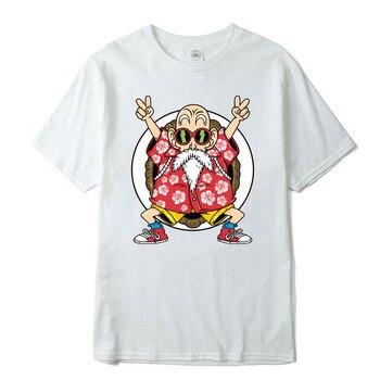 100% cotton T-shirt high quality fashion casual Dragon Ball Z Goku print t shirt men Harajuku brand clothing funny tshirts 1