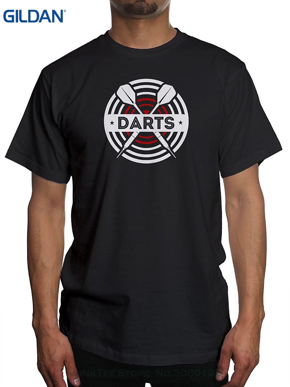 Black t shirt target - Gildan Tshirt Men Black Short Sleeve Cotton Hip Hop T Shirt Print Tee Shirts Men S Darts Board Target T Shirt