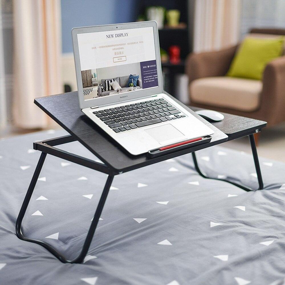 Hilfreich Freies Installation Tragbare Falten Laptop Schreibtisch Student Schlafsaal Artefakt Faul Bett Schreibtisch Einfache Schreibtisch Lm6011020