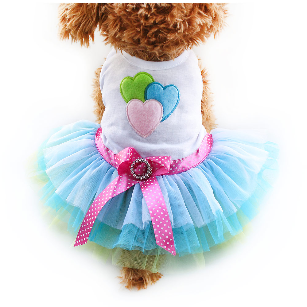 Armi Store Wählen Sie verschiedene Stile Dog Dress Dog Princess Dresses 6071026 Pet Kleidung Rock Supplies XS, S, M, L, XL