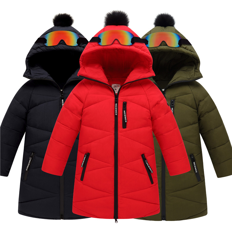 2017 Children Outerwear Winter Jackets Coats Big Boy Thickened Long White Duck Down Jackets For Boys Parka 7 9 11 13 15 Years casual 2016 winter jacket for boys warm jackets coats outerwears thick hooded down cotton jackets for children boy winter parkas