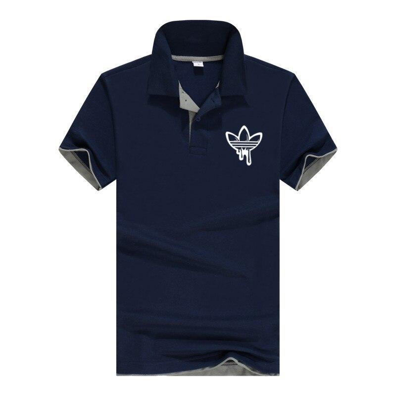 Plus Size M-3XL Brand New Men's   Polo   Shirt High Quality Men Cotton Short Sleeve shirt Brands jerseys autumn Mens   polo   Shirts