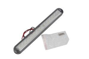 Image 2 - Tira de luces LED para barco marino, 12V, luz de paso de plástico blanco para pasillo, accesorios para autocaravanas RV
