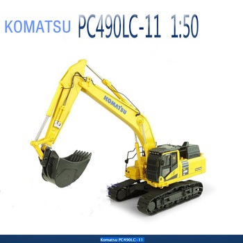 Original UH8120 Diecast Model Komatsu PC490LC-11 Hydraulic Excavator Construction Vehicle Toy for Decoration,Collection,Gift