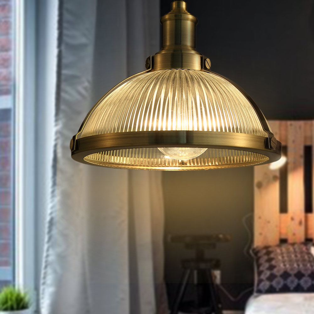 Retro Vintage Pendant Lights Clear Glass Lampshade Loft Pendant Lamps E27 110V 250V for Dinning Room Home Decoration Lighting цена и фото