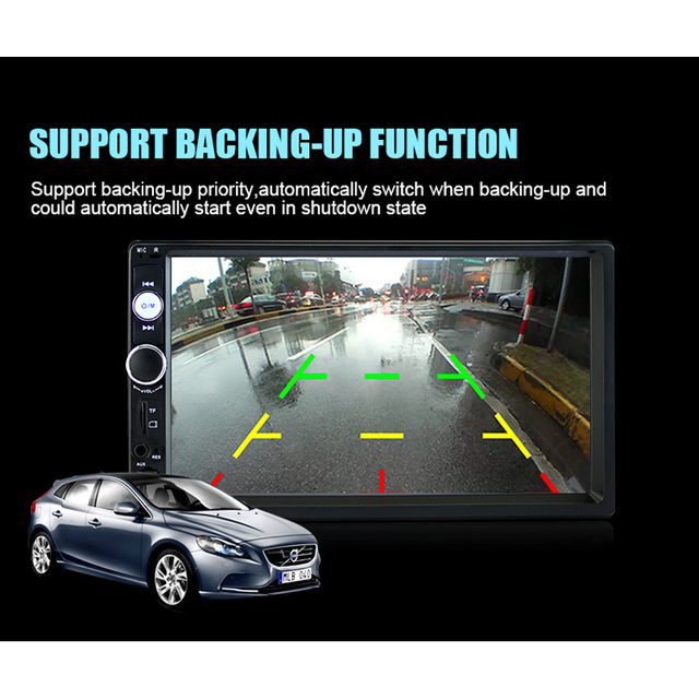Универсальный 7 дюймов 2 дин Радио 2din Аудиомагнитолы автомобильные стерео Авто Аудио Bluetooth 1080 P fm Радио