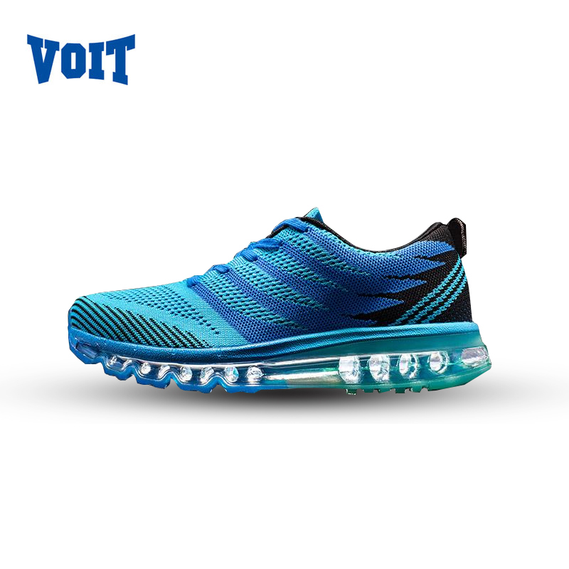 2017 VOIT  Men Athletic Running Shoes Outdoor Air Cushion Max Breathable Mesh Sports Sneakers Jogging lightly men Shoes 72M6210 nike original air max mens sneakers running shoes breathable sneakers shoes outdoor 819300 102