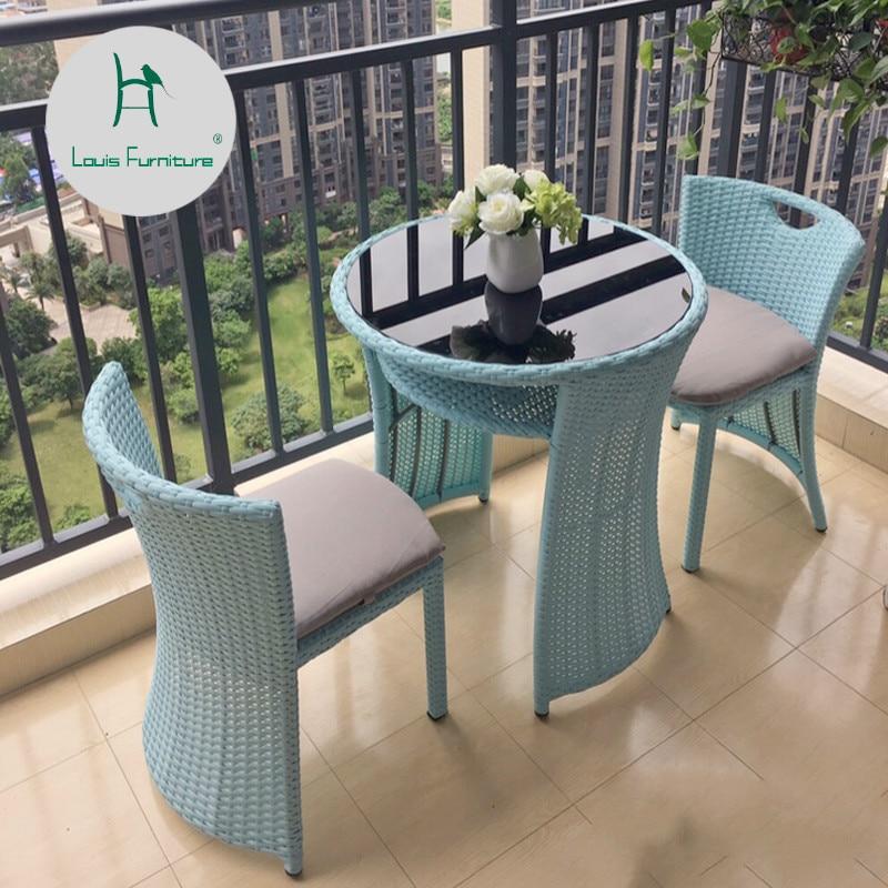 Garden Sets Outdoor Chairs Balcony Tea