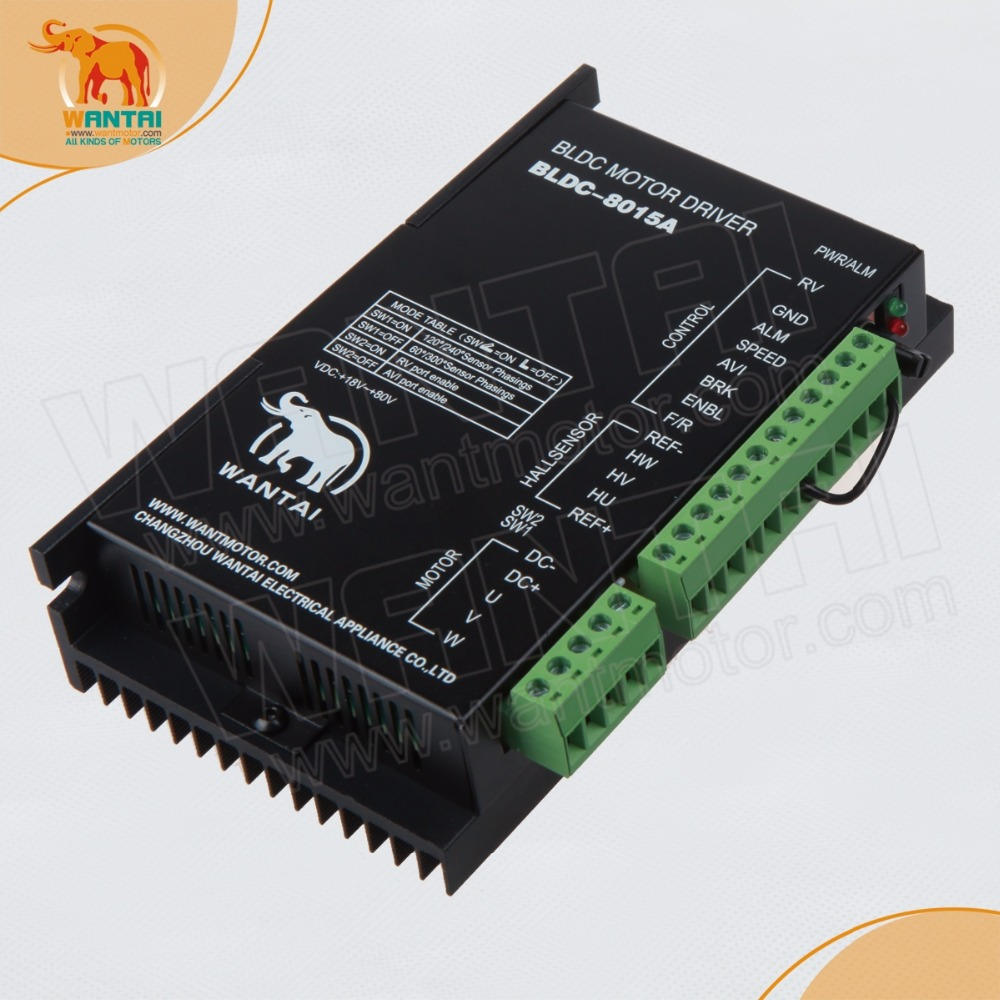 CNC Wantai Brushless DC Motor Driver BLDC-8015A,50VDC,5000RPM peakCNC Wantai Brushless DC Motor Driver BLDC-8015A,50VDC,5000RPM peak