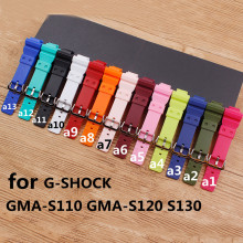 Watch Accessories For Casio G-SHOCK GMA-S120MF S110MF S130 GMA-S110MP GMA-S110CC GMA-S110HC  Strap Women's Watch Strap цена 2017