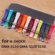 Watch Accessories For Casio G-SHOCK GMA-S120MF S110MF S130 GMA-S110MP GMA-S110CC GMA-S110HC  Strap Women's Watch Strap casio g shock gma s110vc 3a