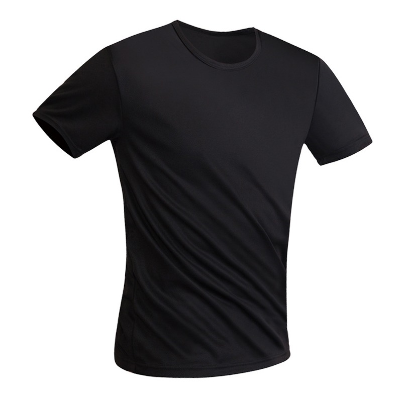 running - Mens Athletic Shirts Anti-Dirty Waterproof Breathable Super Soft Fabric Quick Dry Anti-Bacterial Short Sleeve T-Shirt