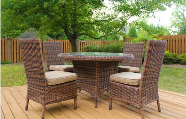 Sigma Leisure Garden Outback Furniture Dining Table Set Outdoor Resin Chair (China) Design Ideas