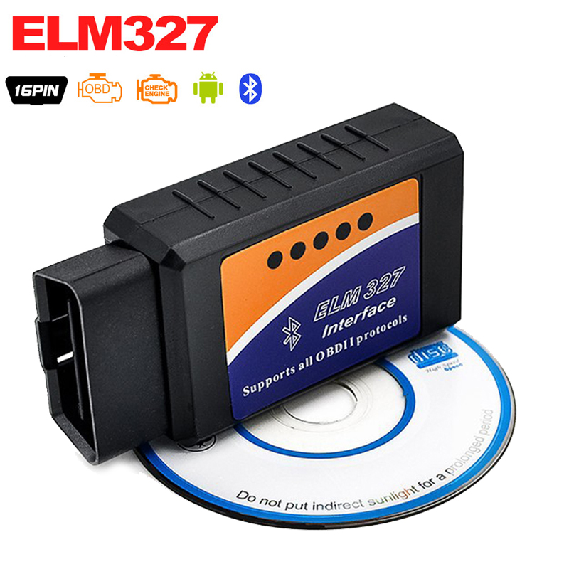 Heißer Verkauf ELM 327 V2.1 Schnittstelle Funktioniert Auf Android Torque Elm327 Bluetooth OBD2/OBD II/OBD 2 Diagnose werkzeug Auto Scanner Tool