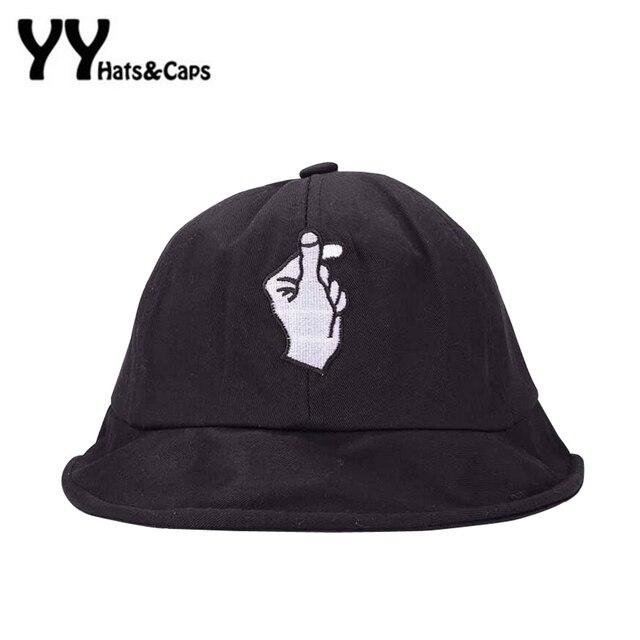291bff38a10 Fashion Dome Bucket Hats For Men Korean Palm Love Caps Women Summer UV  Sunhats Outdoor Camping Fishing UV Hat Sombrero de copa