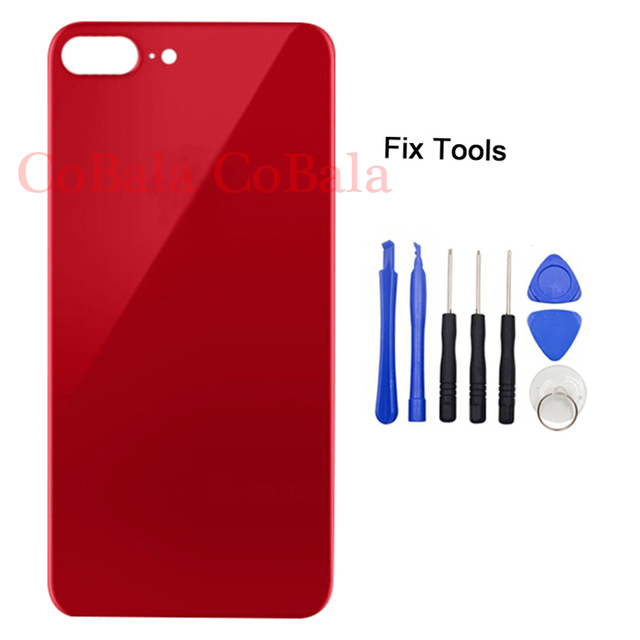big sale c2f53 d6145 US $3.7 |LOVAIN 1Pcs For iPhone8 iPhone 8 Plus Back Battery Cover Rear  Glass Housing Case+Adhesive Sticker Repair Replacement+Tools-in Mobile  Phone ...