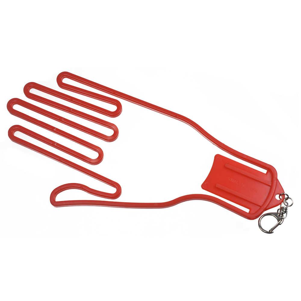 1 st Golf Handschoenen Houder Golf Handschoenen Brancard Golfer Tool Gear Plastic Handschoenen Rack Droger Hanger Brancard met riem