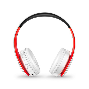 Free Shipping Stereo Shinning Bluetooth Headphones Wireless Stereo Headsets with Mic Support TF Card for iPhone Samsung Calls 3