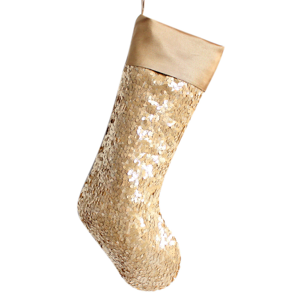 Sequin Christmas Stocking