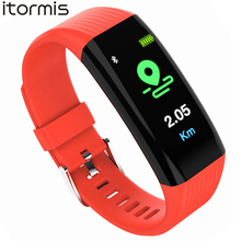Smart Wristband Color Screen Smart Bracelet Pedometer Heart Rate Blood Pressure Sleep Monitor Fitness Tracker Smart Band