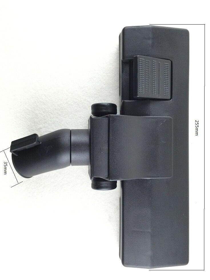 Универсальный мм Тип 35 мм Интерфейс пылесос аксессуары пол и ковровая щетка головка многоцелевая Чистящая щетка головка karcher