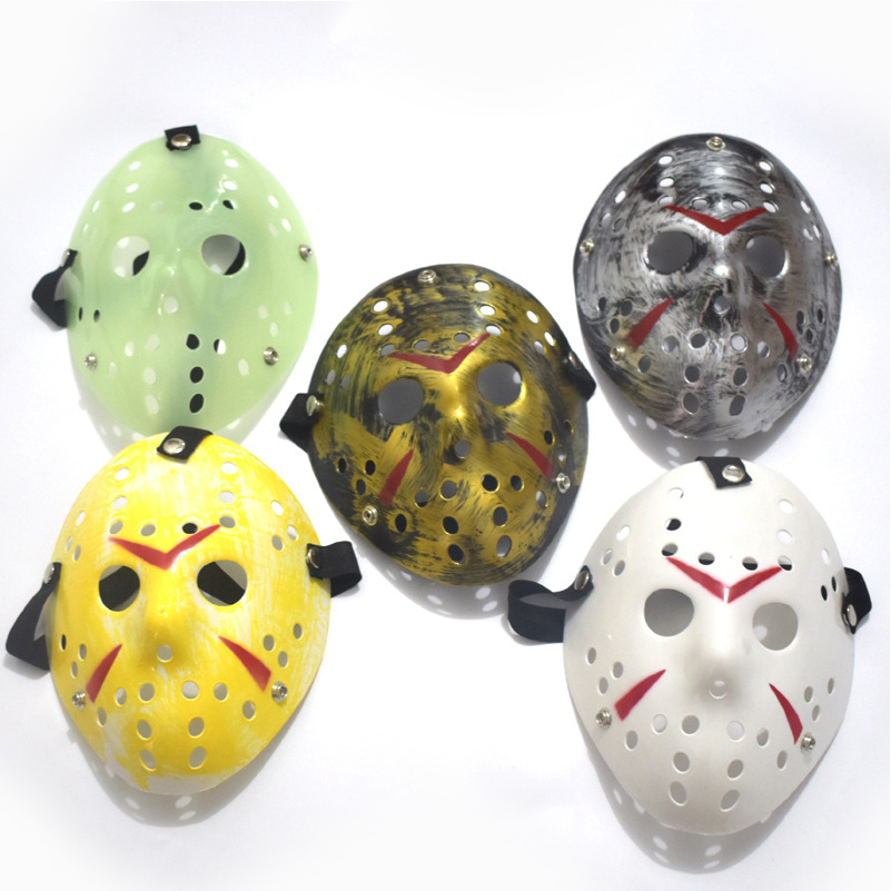 Witch Mask For Adult Open Halloween Scary Rubber Half Head Masquerade Cosplay