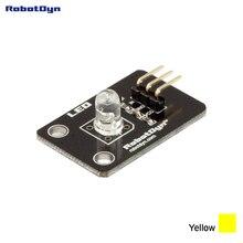 Color LED module (YELLOW). 3.3V/5V