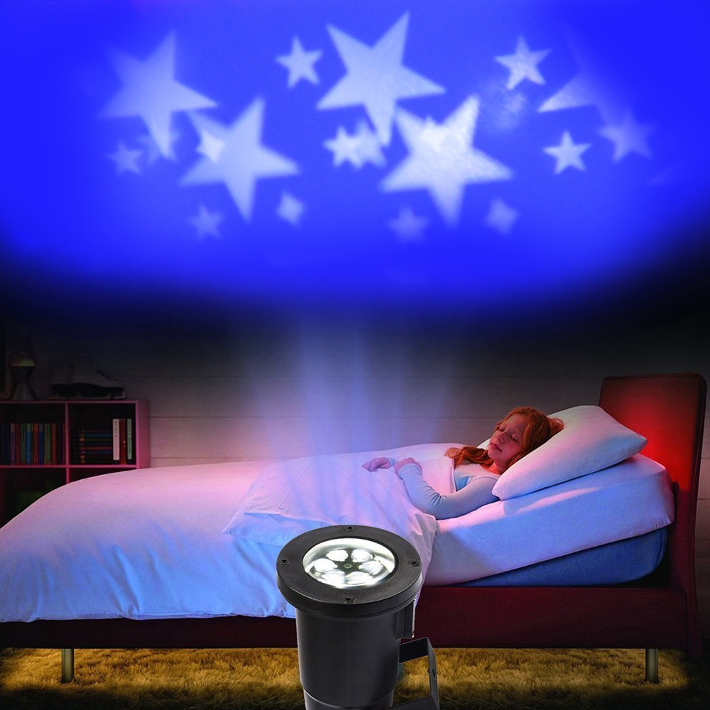 Aliexpress.com : Buy White star led projection light rotating ...