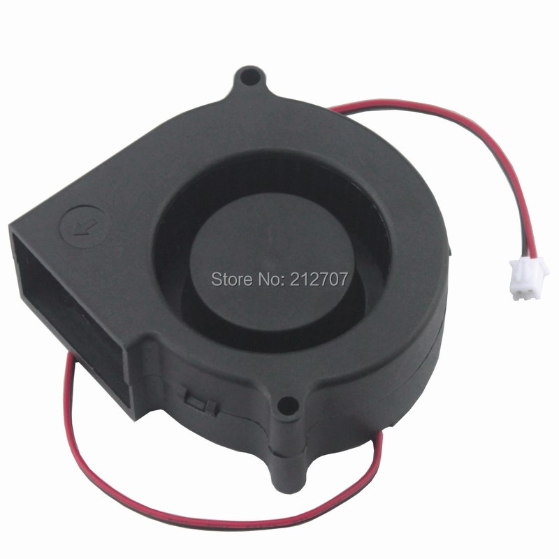 10 Pcs Gdstime 7530 Turbo Centrifugal Fan Blower 24V 75mm x 30mm 2 Pin Exhaust Cooling Cooler in Fans Cooling from Computer Office