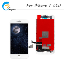 ET-Super 1 PCS For iPhone 7 LCD Display Touch Screen Digitizer No Dead Pixel Complete Assembly Digitizer Assembly free shipping