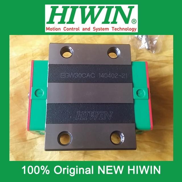 все цены на 1pcs HIWIN EGW30 EGW30CA EG30 New original linear guide block Original HIWIN Linear Guide CNC Parts Stock Good онлайн