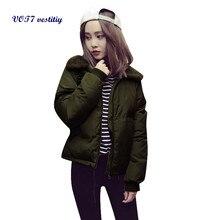 2017 Hotsale Winter Polyester warm WOMEN Jacket VOT7 vestitiy Fashion Women's Casual Winter Warm Parka Jacket Coats Coat A 1