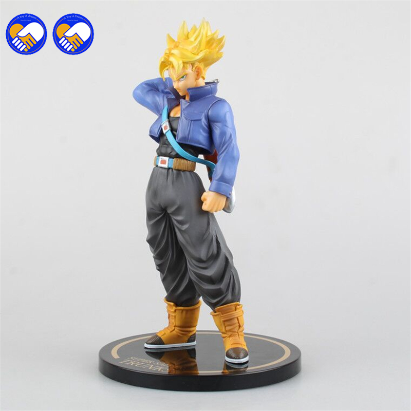 A toy A dream Original BANPRESTO DXF the super warriors son goku black super saiyan 2 trunks DRAGON BALL Z figure toy model toys dragon ball super original banpresto dxf the super warriors vol 4 collection figure super saiyan god super saiyan son goku