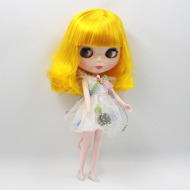 ICY Neo Blythe Doll Mango Yellow Hair Regular Body