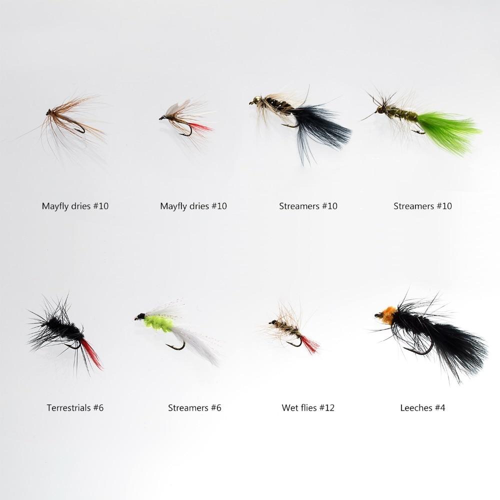 bassdash kit assorted moscas pesca mosca 02
