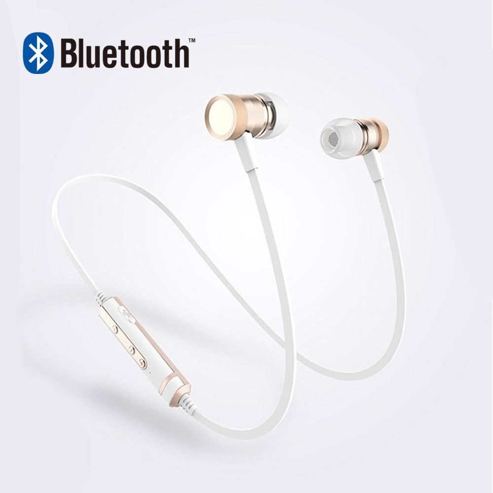 Son Entonnent H6 Stéréo Basse Écouteurs Bluetooth Fonctionnant Sport avec Mic Écouteurs Sans Fil Basse Bluetooth Casques Dans L'oreille