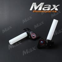 Motorcycle parts visual Throttle Grips Settle & twist gas throttle handle Dirt Pit Bikes atv 50cc- 160cc ATV GPX SDG